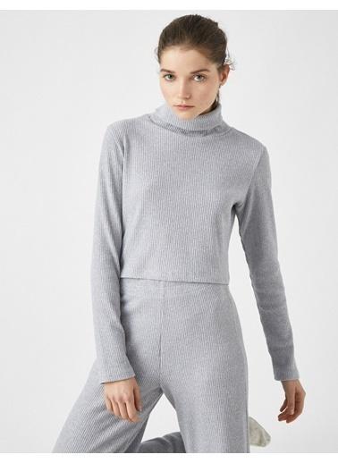 Koton Pyjamas Knıt Tops Gri